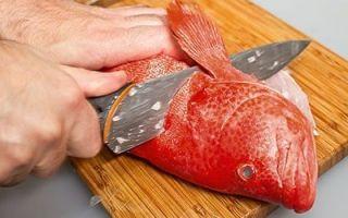 Разделывать рыбу во сне