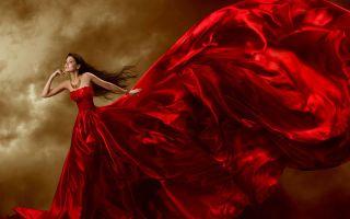Красное платье во сне во сне: значение по сонникам