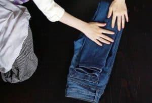 Упаковка джинс