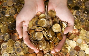 На волшебные монеты