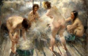 Девушки моются